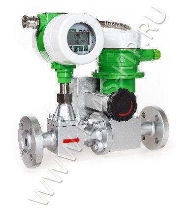 Роторный расходомер с регулятором
